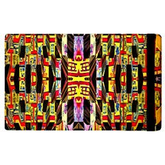 Three D Pie  Apple Ipad 3/4 Flip Case