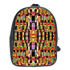 Three D Pie  School Bags (xl)
