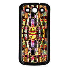 Three D Pie  Samsung Galaxy S3 Back Case (black)