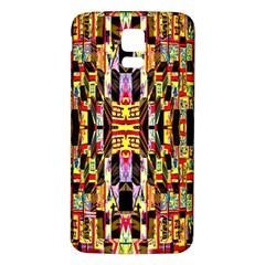 Three D Pie  Samsung Galaxy S5 Back Case (white)