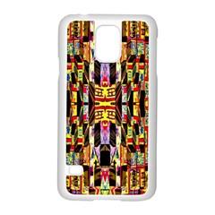 Three D Pie  Samsung Galaxy S5 Case (white)