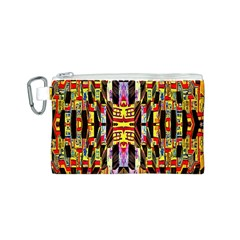 Three D Pie  Canvas Cosmetic Bag (s)