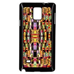 Three D Pie  Samsung Galaxy Note 4 Case (black)