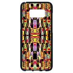 Three D Pie  Samsung Galaxy S8 Black Seamless Case