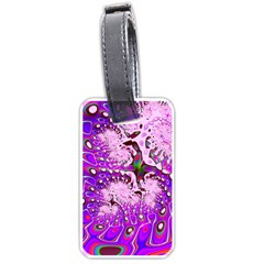Fractal Fantasy 717a Luggage Tags (two Sides)