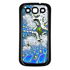 Fractal Fantasy 717b Samsung Galaxy S3 Back Case (black)
