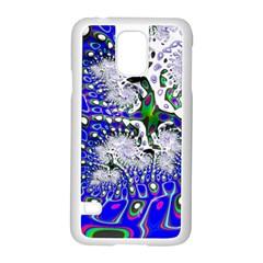 Fractal Fantasy 717c Samsung Galaxy S5 Case (white)