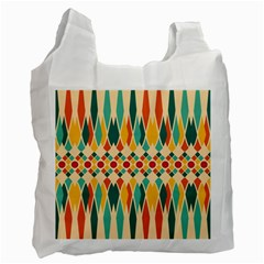 Festive Pattern Recycle Bag (two Side)
