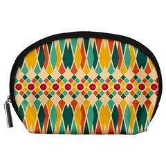 Festive Pattern Accessory Pouches (large)