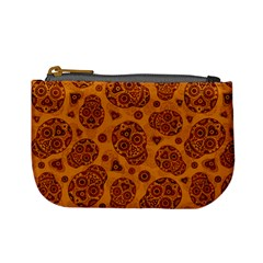Sugar Skulls   Gold Coin Change Purse