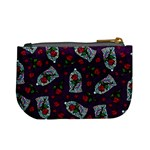 Stained Glass Roses Coin Change Purse Back