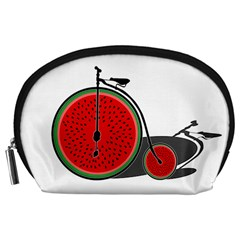 Watermelon Bicycle  Accessory Pouches (large)