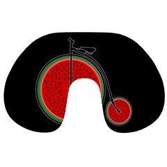Watermelon Bicycle  Travel Neck Pillows