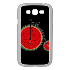 Watermelon Bicycle  Samsung Galaxy Grand Duos I9082 Case (white)