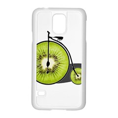 Kiwi Bicycle  Samsung Galaxy S5 Case (white)