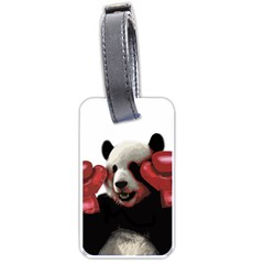 Boxing Panda  Luggage Tags (two Sides)