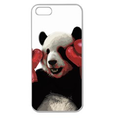 Boxing Panda  Apple Seamless Iphone 5 Case (clear)