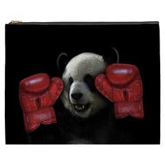 Boxing Panda  Cosmetic Bag (xxxl)
