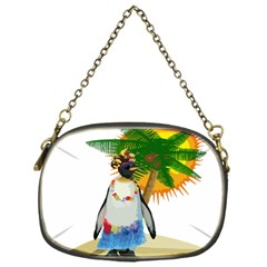 Tropical Penguin Chain Purses (one Side)