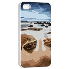 Landscape Apple Iphone 4/4s Seamless Case (white)