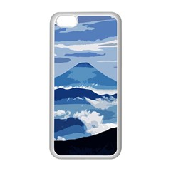Landscape Apple Iphone 5c Seamless Case (white)