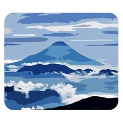 Landscape Double Sided Flano Blanket (small)