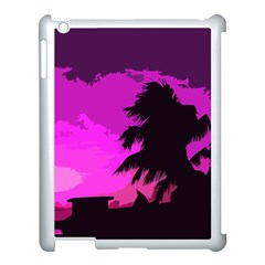 Landscape Apple Ipad 3/4 Case (white)