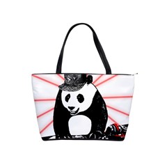 Deejay Panda Shoulder Handbags