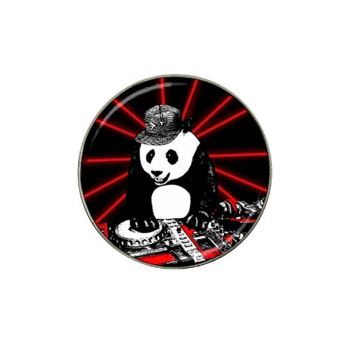 Deejay panda Hat Clip Ball Marker