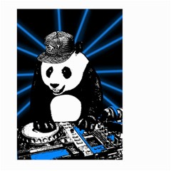 Deejay Panda Large Garden Flag (two Sides)