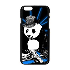 Deejay Panda Apple Iphone 6/6s Black Enamel Case