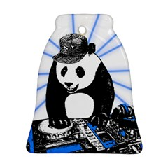 Deejay Panda Bell Ornament (two Sides)