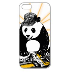 Deejay Panda Apple Seamless Iphone 5 Case (clear)