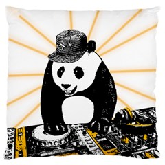 Deejay Panda Standard Flano Cushion Case (one Side)