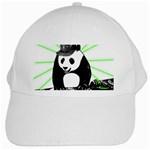 Deejay panda White Cap Front