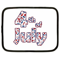 4th Of July Independence Day Netbook Case (large)