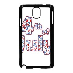 4th Of July Independence Day Samsung Galaxy Note 3 Neo Hardshell Case (black)