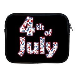 4th Of July Independence Day Apple Ipad 2/3/4 Zipper Cases