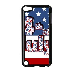 4th Of July Independence Day Apple Ipod Touch 5 Case (black)