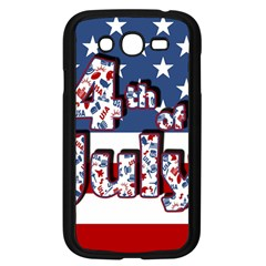 4th Of July Independence Day Samsung Galaxy Grand Duos I9082 Case (black)