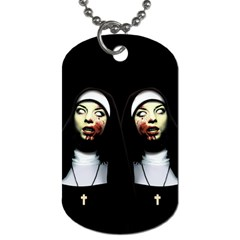 Horror Nuns Dog Tag (two Sides)