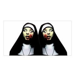 Horror Nuns Satin Shawl