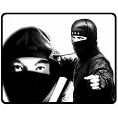 Ninja Double Sided Fleece Blanket (medium)