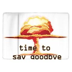 Nuclear Explosion Samsung Galaxy Tab 10 1  P7500 Flip Case