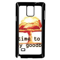 Nuclear Explosion Samsung Galaxy Note 4 Case (black)