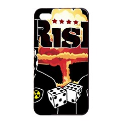 Nuclear Explosion Trump And Kim Jong Apple Iphone 4/4s Seamless Case (black)