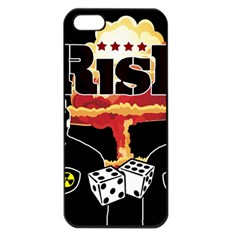 Nuclear Explosion Trump And Kim Jong Apple Iphone 5 Seamless Case (black)