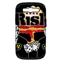 Nuclear Explosion Trump And Kim Jong Samsung Galaxy S Iii Hardshell Case (pc+silicone)