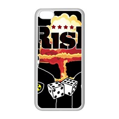 Nuclear Explosion Trump And Kim Jong Apple Iphone 5c Seamless Case (white)