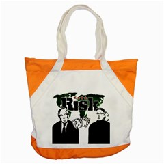 Nuclear Explosion Trump And Kim Jong Accent Tote Bag